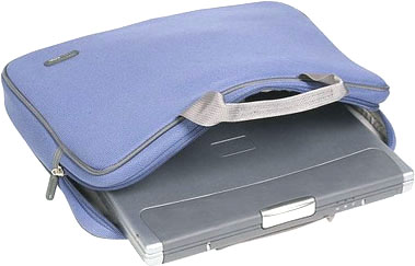 Кейс для ноутбука Sumdex PUN-885 Blue - внутренний карман