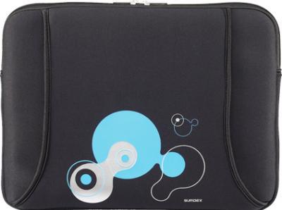 Чехол для ноутбука Sumdex NUN-823 (черный) - общий вид