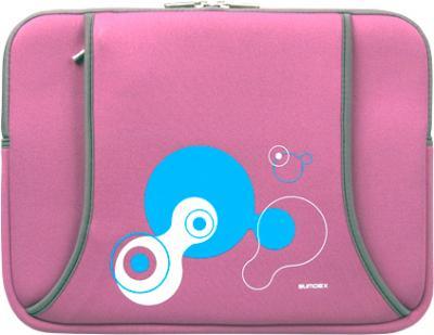 Чехол для ноутбука Sumdex NUN-823 (розовый) - общий вид