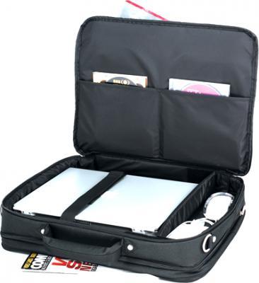 Сумка для ноутбука Sumdex PON-312 Black - внутренние карманы