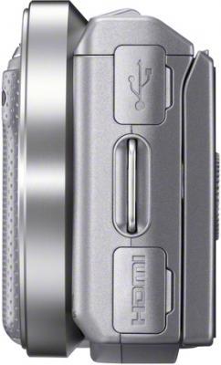 Беззеркальный фотоаппарат Sony NEX-5NK - Вид сбоку