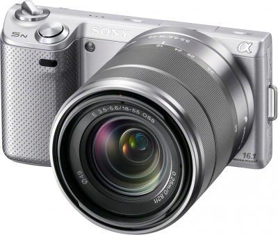 Беззеркальный фотоаппарат Sony NEX-5NK - Общий вид