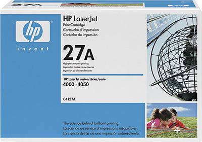 Тонер-картридж HP 27A (C4127A) - общий вид