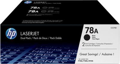 Комплект картриджей HP 78A (CE278AF) - общий вид