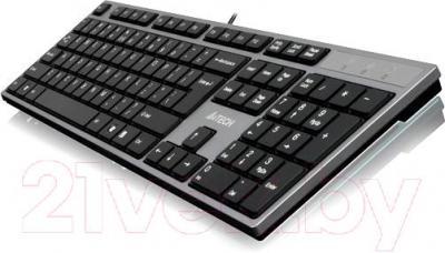 Клавиатура A4Tech KD-300 (серо-серебристый)