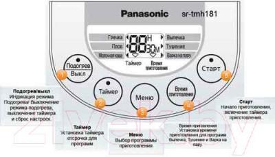 Мультиварка Panasonic SR-TMH181