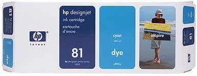 Картридж HP 81 (C4951A) - общий вид