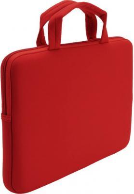 Сумка для ноутбука Case Logic LNEO-10  (Red) - вид сзади