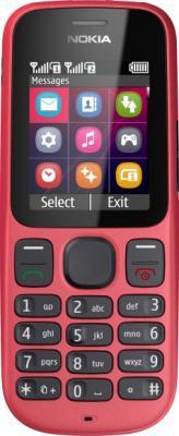 Мобильный телефон Nokia 101 Coral Red - общий вид