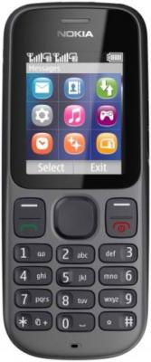 Мобильный телефон Nokia 101 Phantom Black - спереди