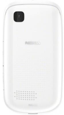 Мобильный телефон Nokia Asha 200 White - задняя панель