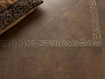 Декоративная  плитка для пола Italon Элеганс Чеснат Блум (72x72)