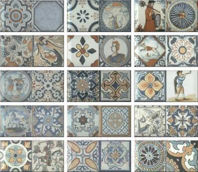 Декоративная плитка для кухни Monopole Antique Синий M095A (200x100)