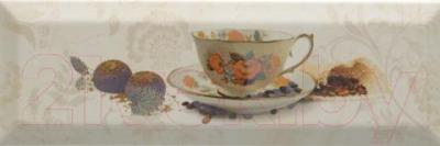 Декоративная плитка Monopole Bonjour Cafe Marfil (300x100)