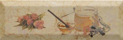 Декоративная плитка Monopole Bonjour Miel Crema (300x100)