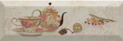 Декоративная плитка для кухни Monopole Bonjour Tea Crema (300x100)