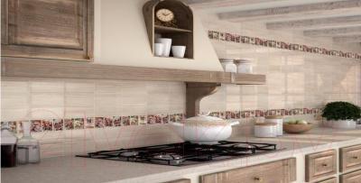 Декоративная плитка для кухни Monopole Exquisit B Brillo (300x100)