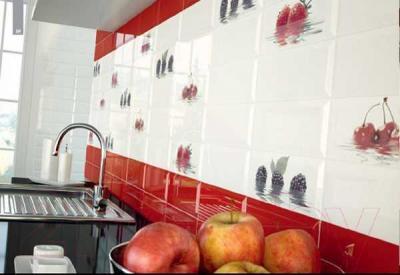 Декоративная плитка Monopole Fresh Cereza (300x100)