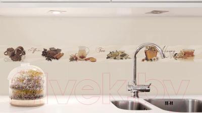 Декоративная плитка для кухни Monopole Sweet Coffe (400x100)