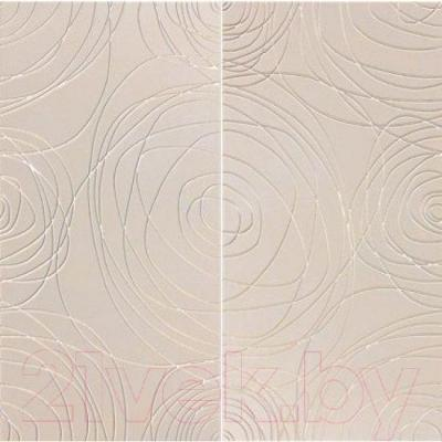 Декоративная плитка Pilch Панно Magma 2 Krem (600x600)