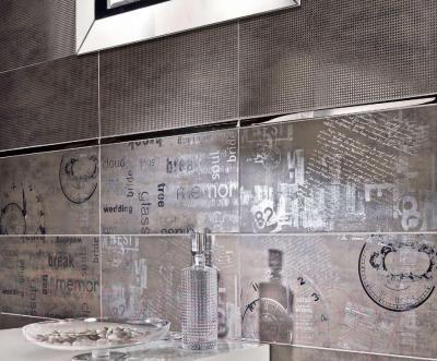 Декоративная плитка для ванной Pilch Land 2 (600x300)