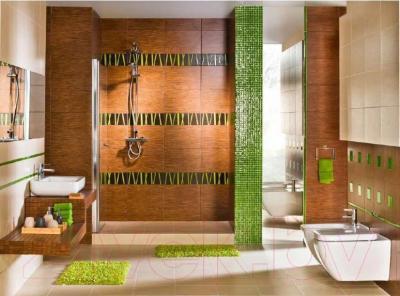 Бордюр для ванной Pilch Zebrano 7 (450x148)