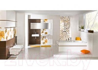Декоративная плитка для ванной Pilch Панно Inez 1 (600x600)