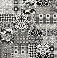 Декоративная плитка для ванной Pilch Панно Inez 3 (600x600) -