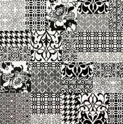 Декоративная плитка для ванной Pilch Панно Inez 3 (600x600)