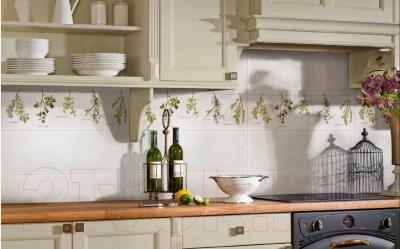 Декоративная плитка для кухни Pilch Magnetic 6 Szary (600x200)