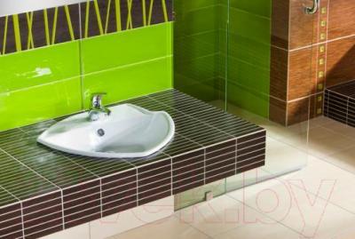 Плитка для пола ванной Pilch Zebrano Krem PR-681J (330x330)