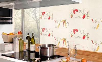Декоративная плитка для кухни Pilch Etna 7A (450x170)