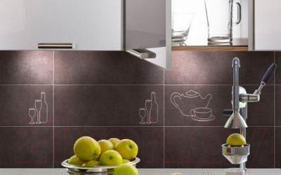 Декоративная плитка для кухни Pilch Etna 9 Krem (450x170)