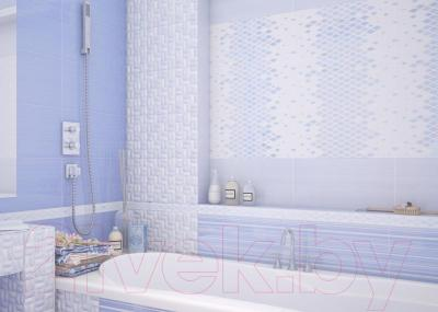 Декоративная плитка для ванной AltaCera Twist Azul WT9TWS03 (500x249)