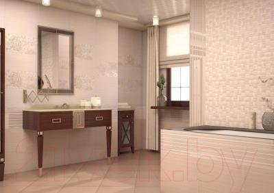 Декоративная плитка для ванной AltaCera Twist Lila WT9TWS02 (500x249)