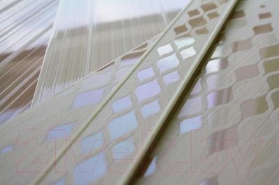 Декоративная плитка для ванной AltaCera Blik Crema DW9BLK01 (500x249)