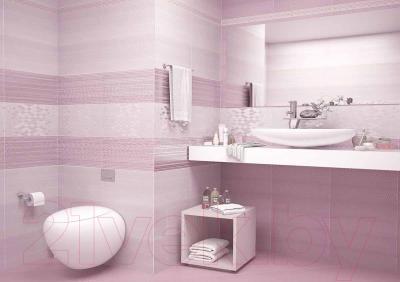 Бордюр для ванной AltaCera Blik Lila BW0BLK02 (500x50)