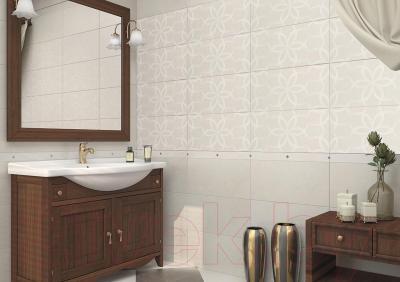 Бордюр для ванной AltaCera Fiore Crema BW0FIR01 (500x50)