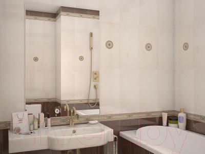 Декоративная плитка для ванной AltaCera Imperial Crema DW9IMP01 (500x249)