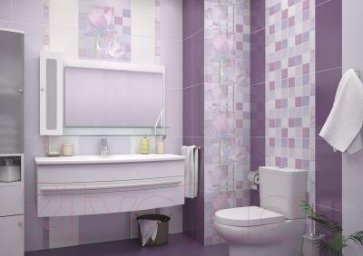 Декоративная плитка для ванной AltaCera Lotus 3 DW9LTS302 (500x249)