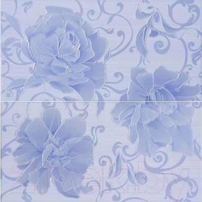 Декоративная плитка AltaCera Панно Pion S/2 Azul SW9PIN03 (500x498)