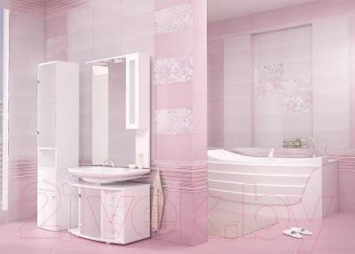 Декоративная плитка для ванной AltaCera Панно Pion S/2 Lila SW9PIN02 (500x498)