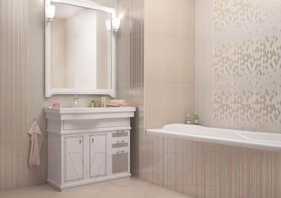 Плитка для стен ванной AltaCera Lines Crema WT9LNS01 (500x249)