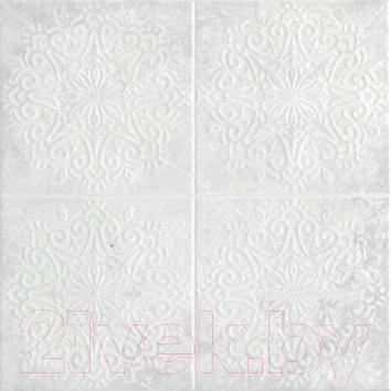 Декоративная  плитка для пола VitrA Truva White 1 K083633 (300x300)