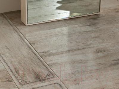 Декоративная плитка Rondine MetalWood Dust Bordo Mix J84371 (610x150)