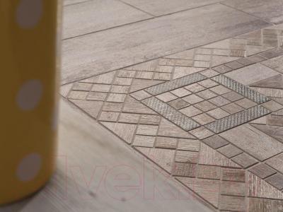 Декоративная плитка Rondine MetalWood Grey Wine Mix J84347 (610x150)
