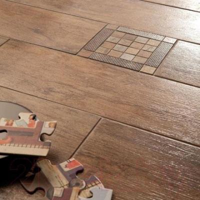 Плитка Rondine MetalWood Tobacco J84076 (610x150)