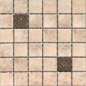 Мозаика VitrA Rock K5120314 (300x300, золото)