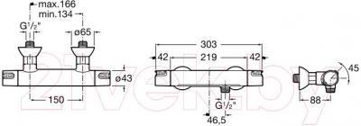 Смеситель Roca Victoria-T 5A1318C00