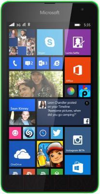 Смартфон Microsoft Lumia 535 Dual (зеленый)